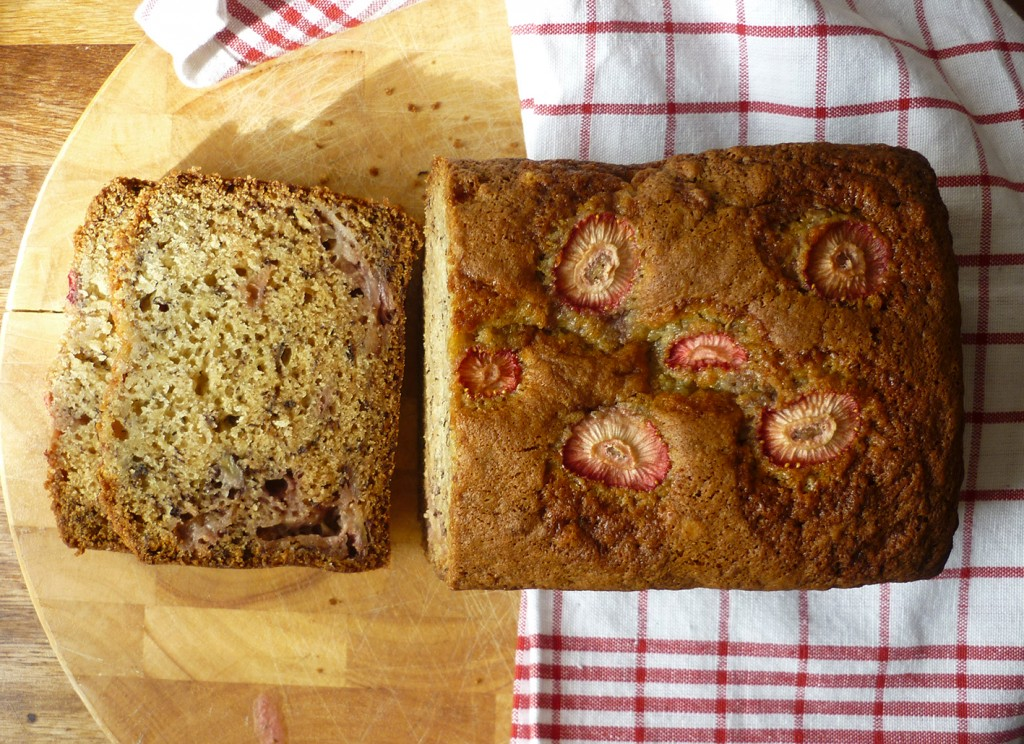 Strawberry Banana Loaf | Bake Good