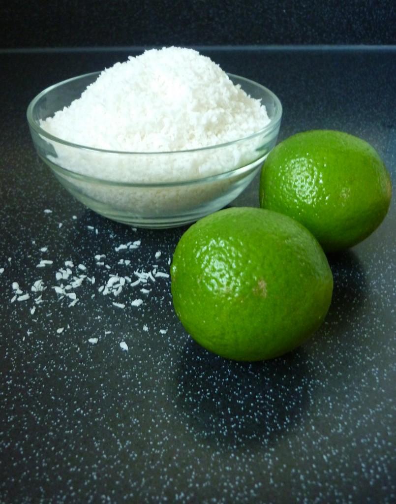 coconut lime loaf