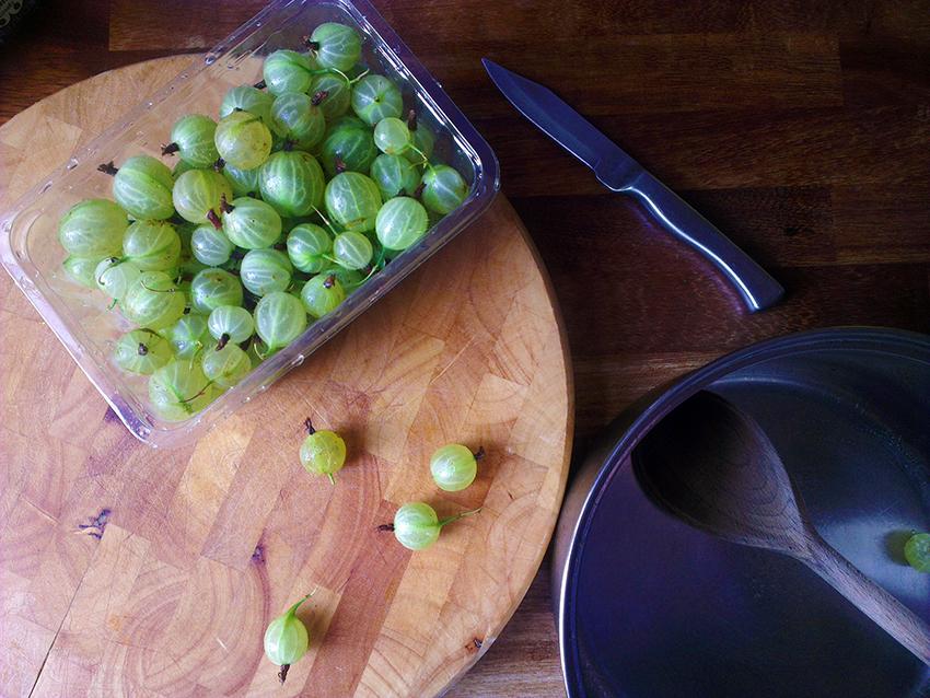 gooseberry jam 1