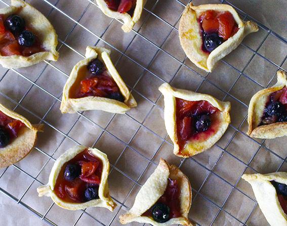 peach blueberry pie 8