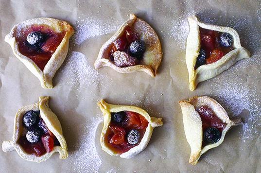 peach blueberry pie 9