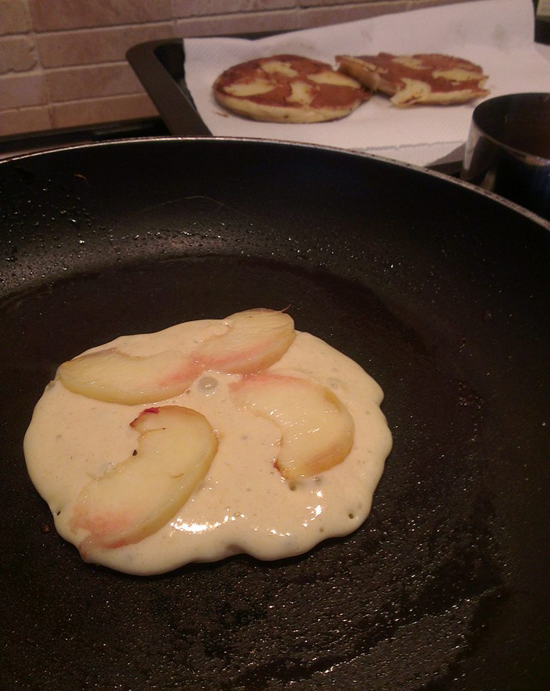 peach graptefruit pancakes 2