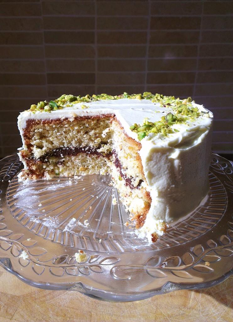 pistachio cake 9