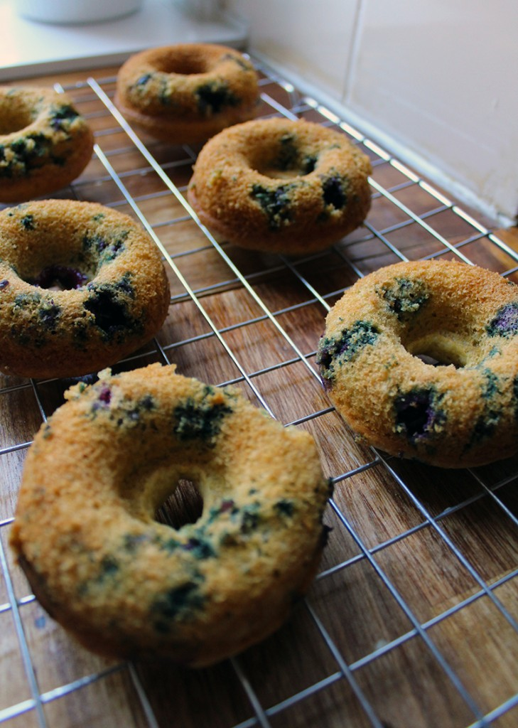 lemon blueberry doughnuts 8