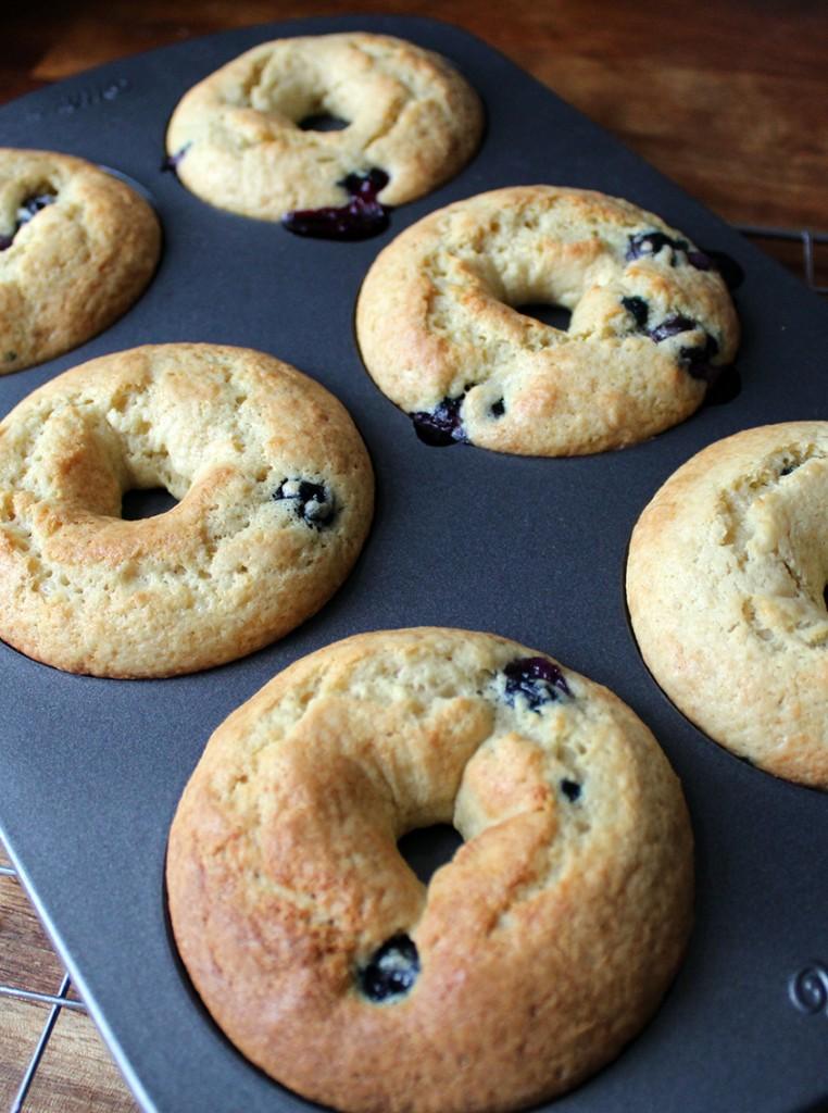 lemon blueberry doughnuts 9