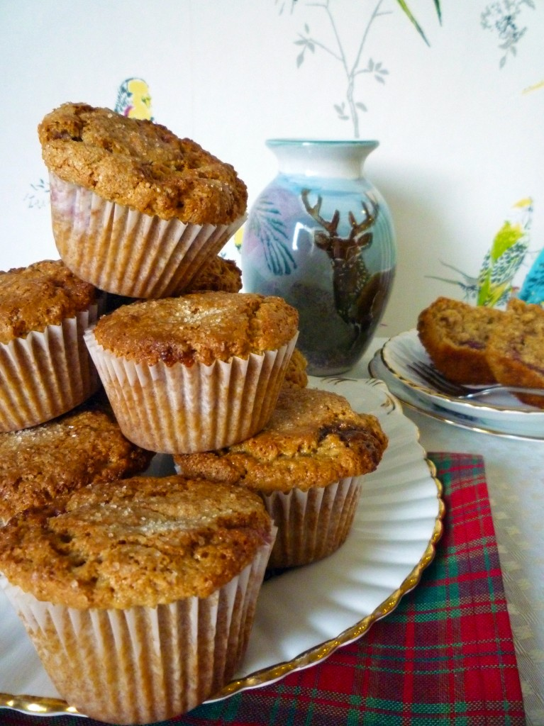 peanut butter and jam muffins 10