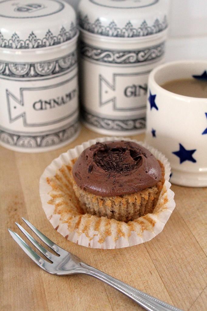 banana chocolate cupcakes 2