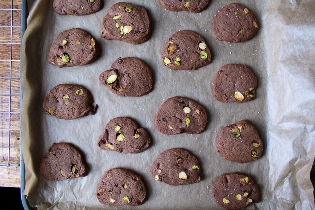 chocolate pistachio biscuits 6