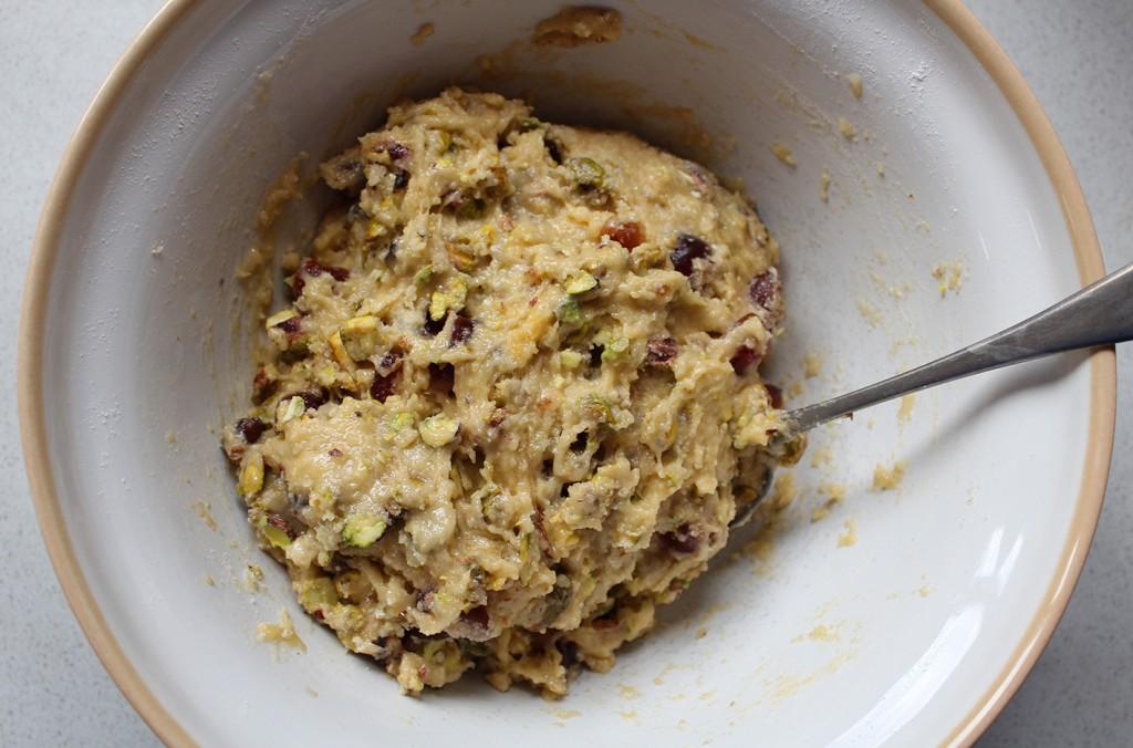 cherry & pistachio biscotti 3