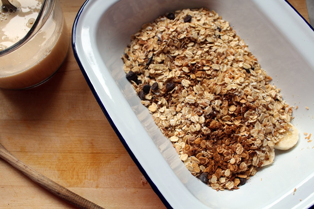 coconut choc chip baked oatmeal 5