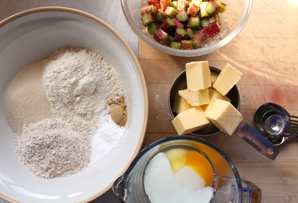 rhubarb ginger scones 08