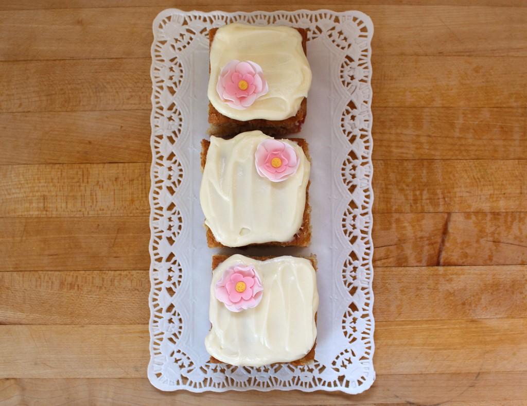 strawberry mini cakes 2