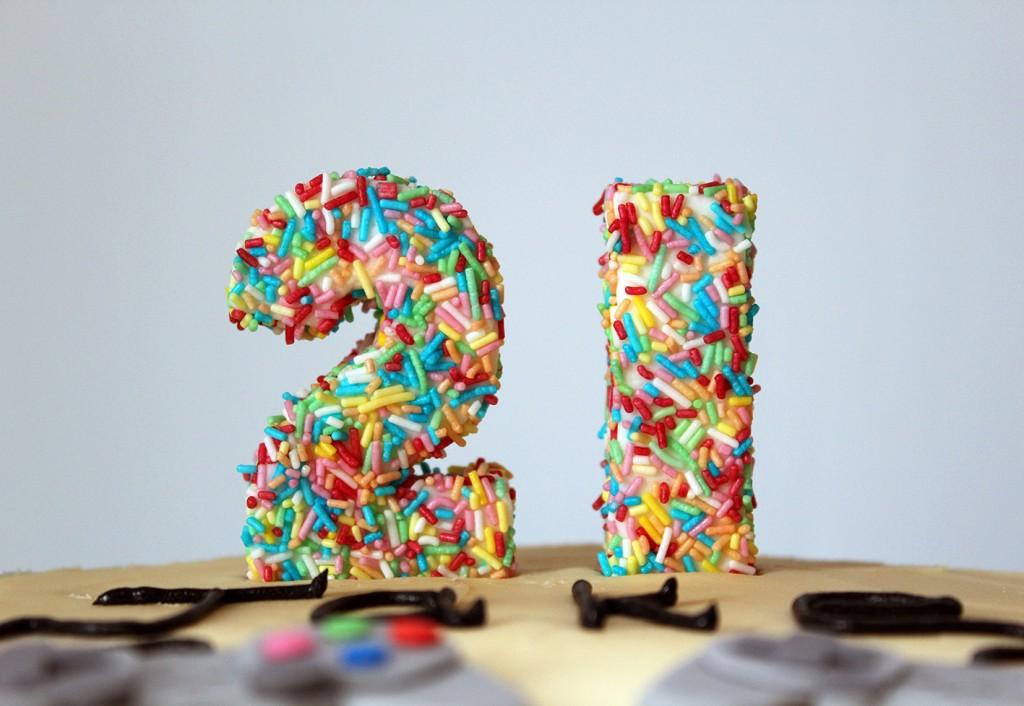 21st cake 6