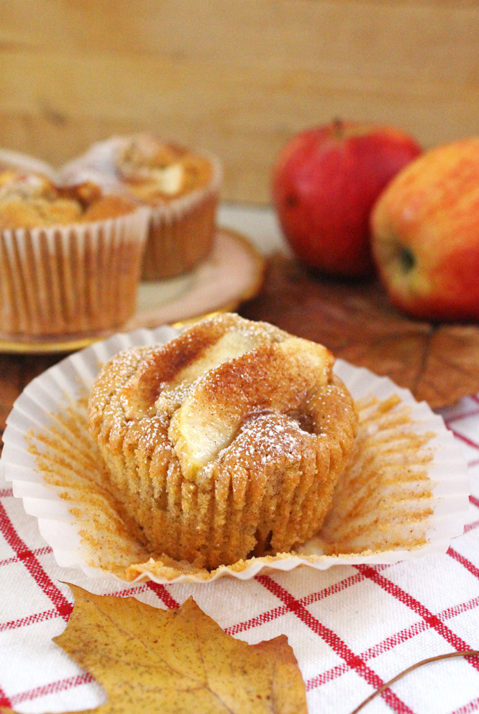spiced caramelised apple cupcakes 4
