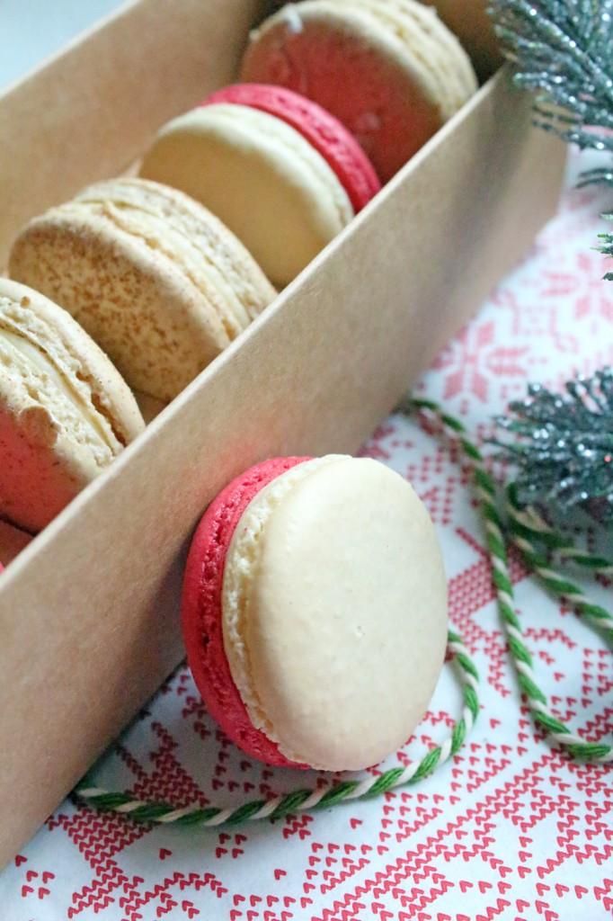 christmas-macarons