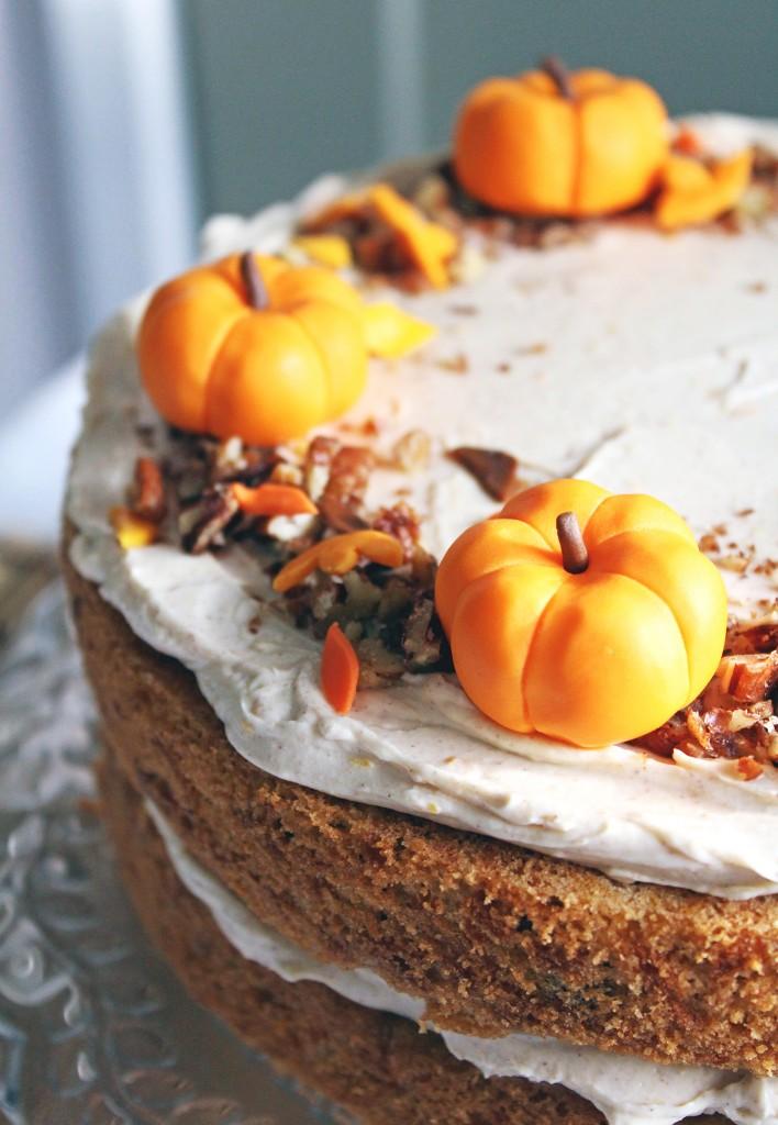 pumpkin orange cake 1