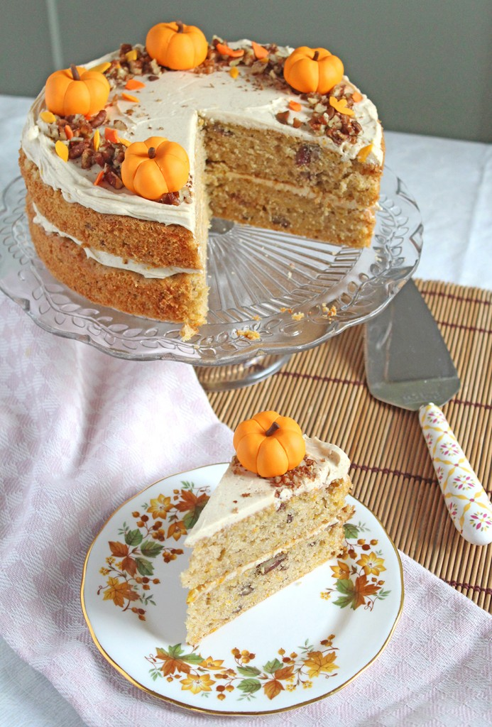 pumpkin orange cake 6