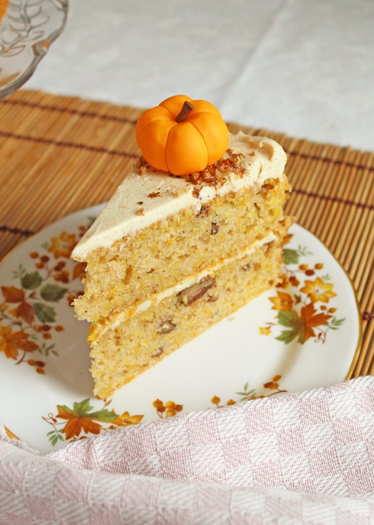 pumpkin orange cake 7