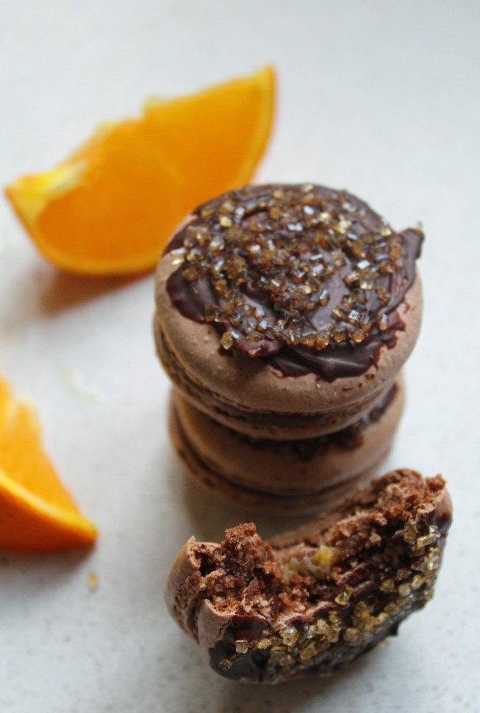 chocolate-orange-macarons-2
