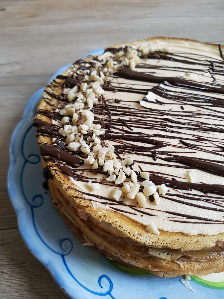 CHOCOLATE PEANUT BUTTER CREPE CAKE (7)